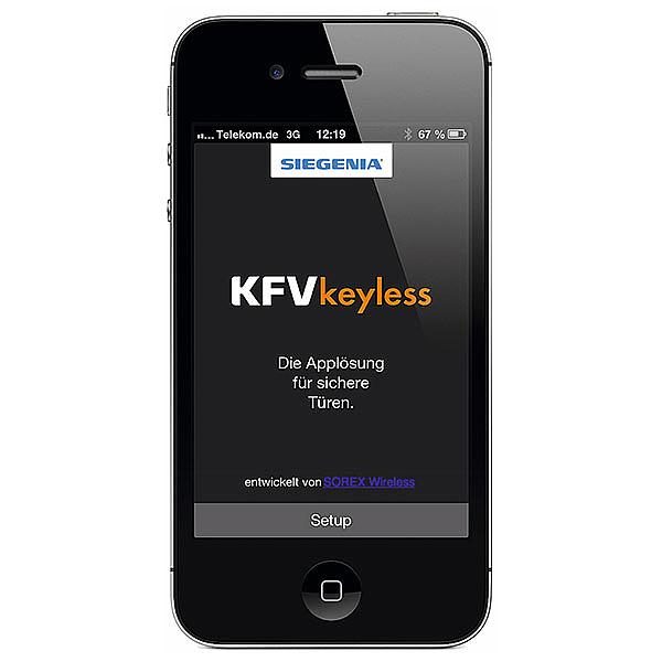 KFV Keyless Steuerung über das Handy