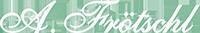 Fensterbau A. Frötschl Logo